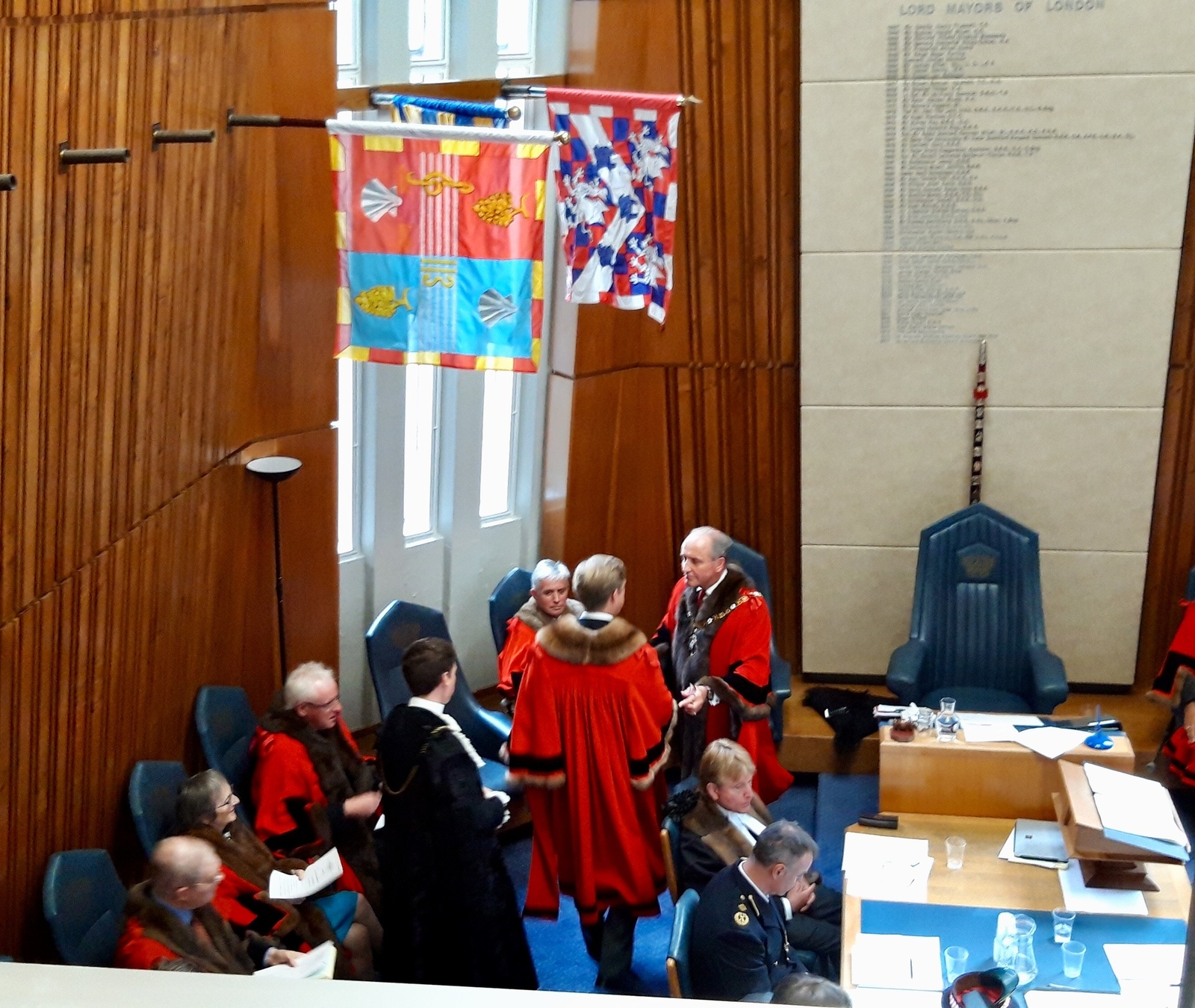 The Installation Ceremony of Alderman Robert Hughes-Penney