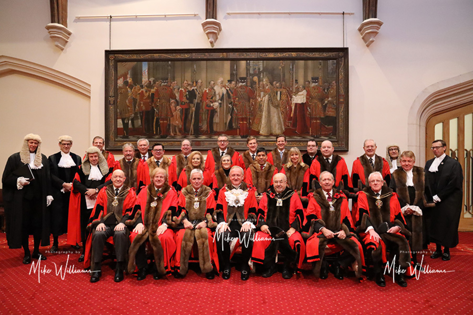 The Court of Aldermen is summoned and presided over by the Lord Mayor and consists of the 25 Aldermen, one for each ward of the City, and The Recorder of London