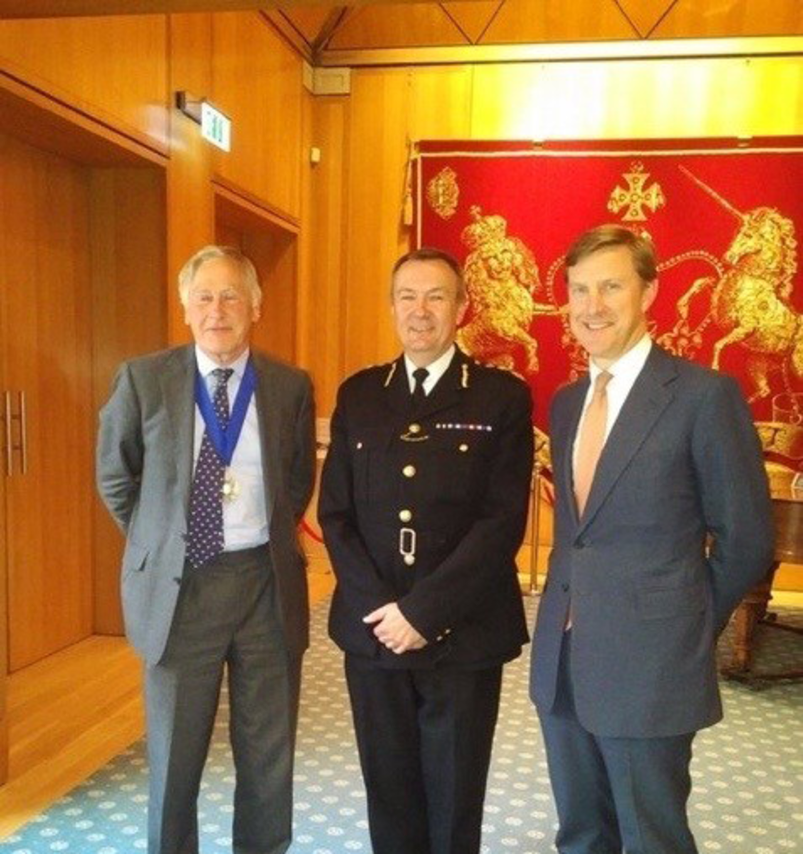 The City of London Police Commissioner at Haberdashers' Hall