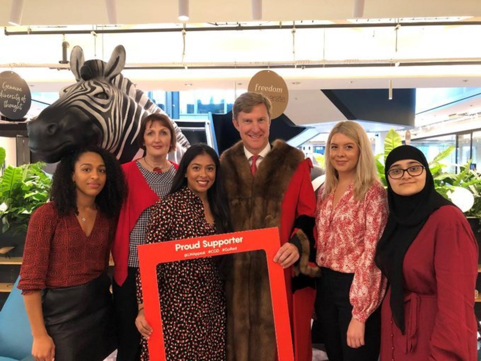 City Giving Day 2019 at Investec